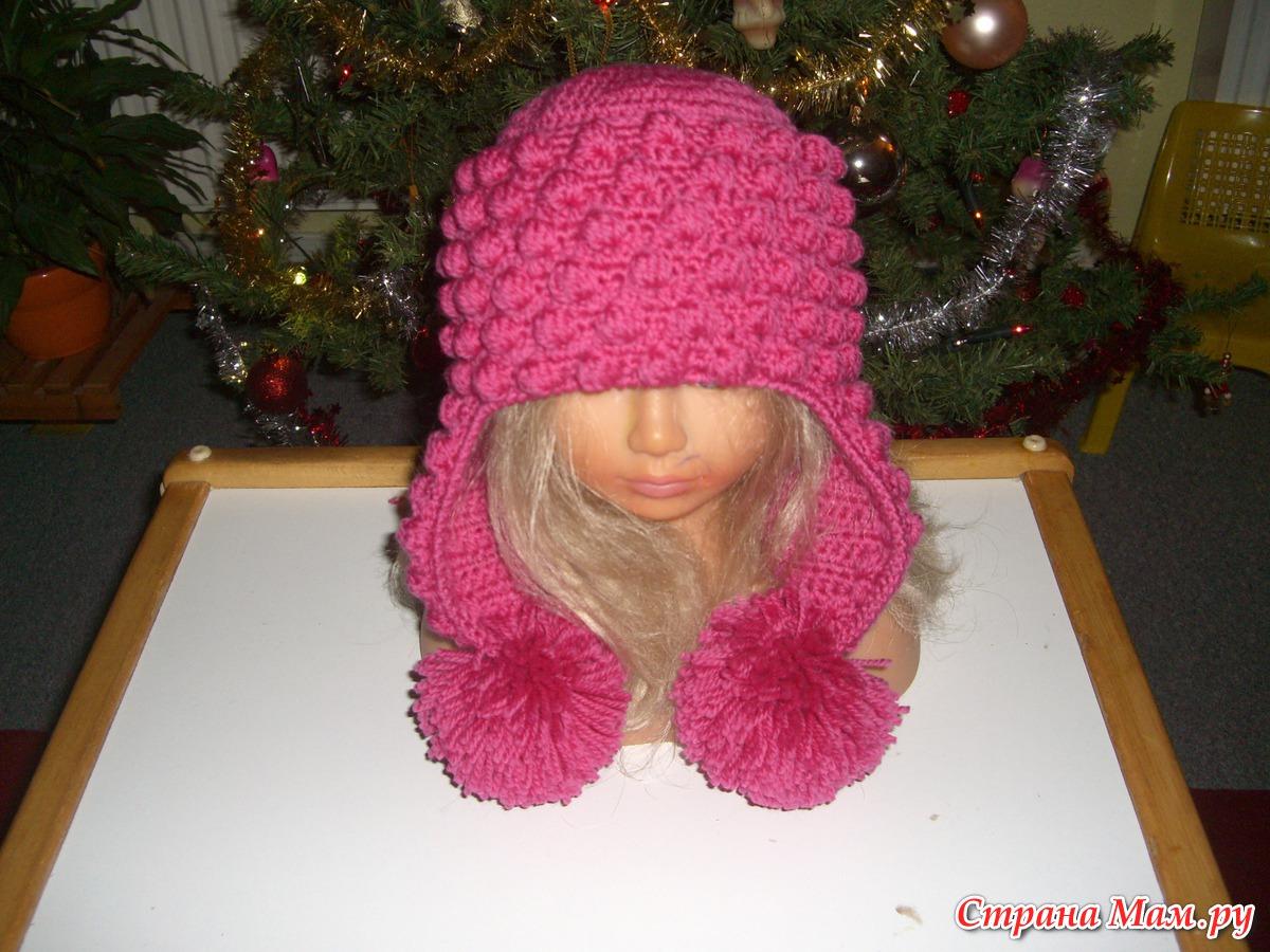 Вяжем детские шапочки с описанием
