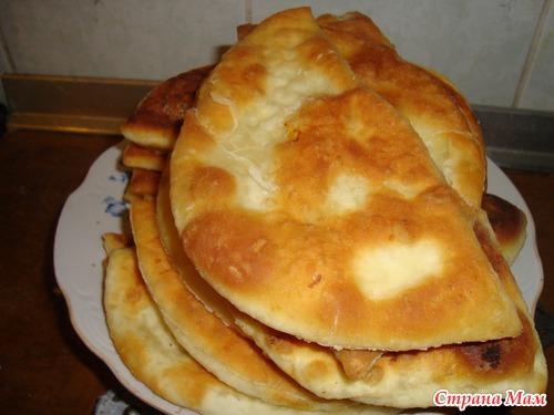 Рецепт теста на чебуреки узбекские