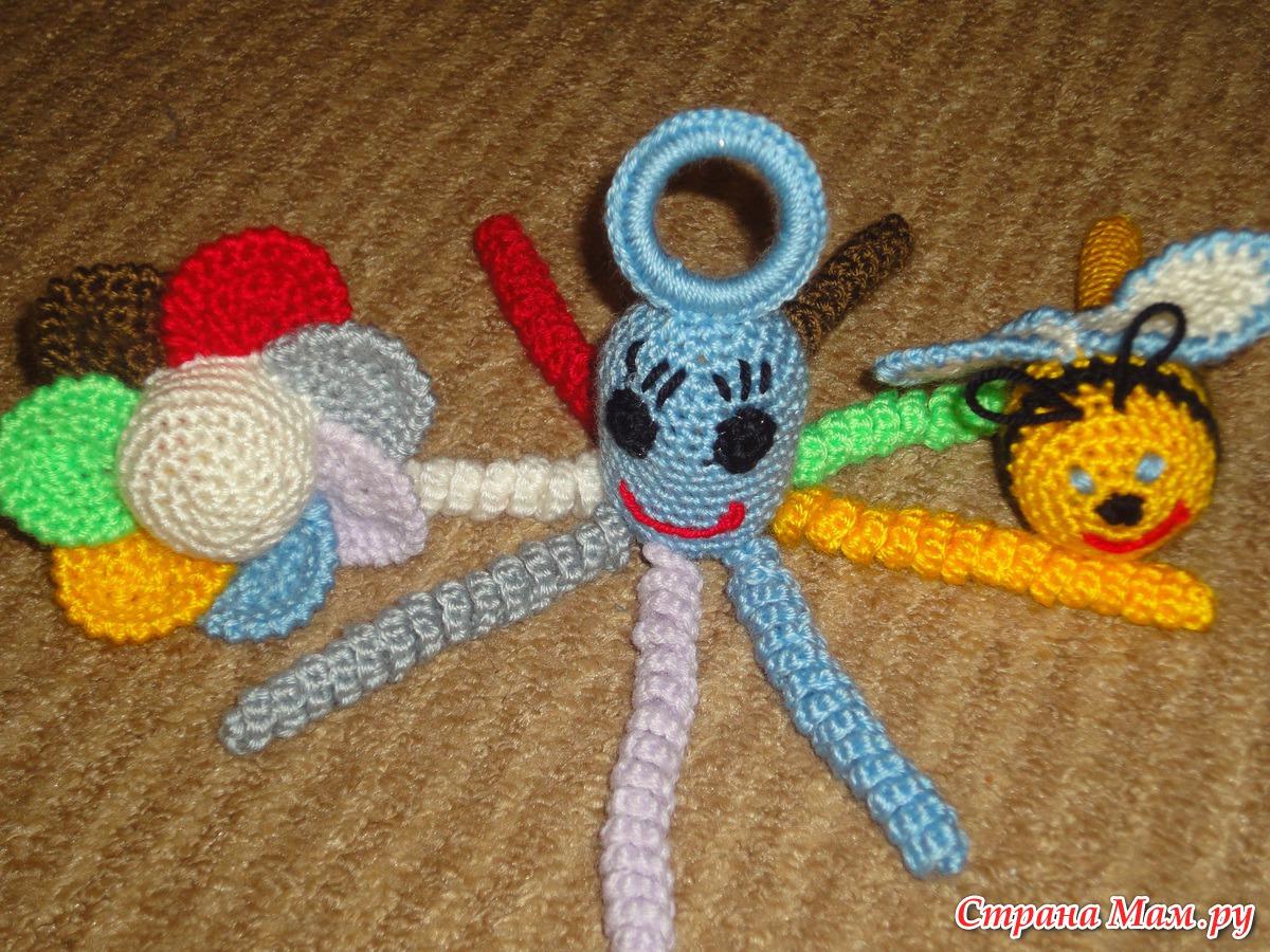 Поделки для садика своими руками вязания