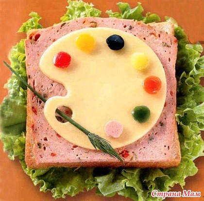 интересные рецепты бутербродов с фото