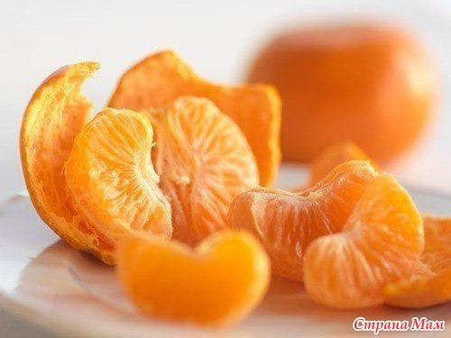 с какого возраста можно мандарин