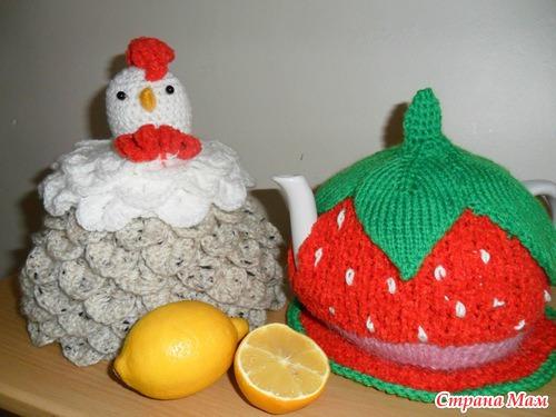 Грелка курица на чайник своими руками крючком схема