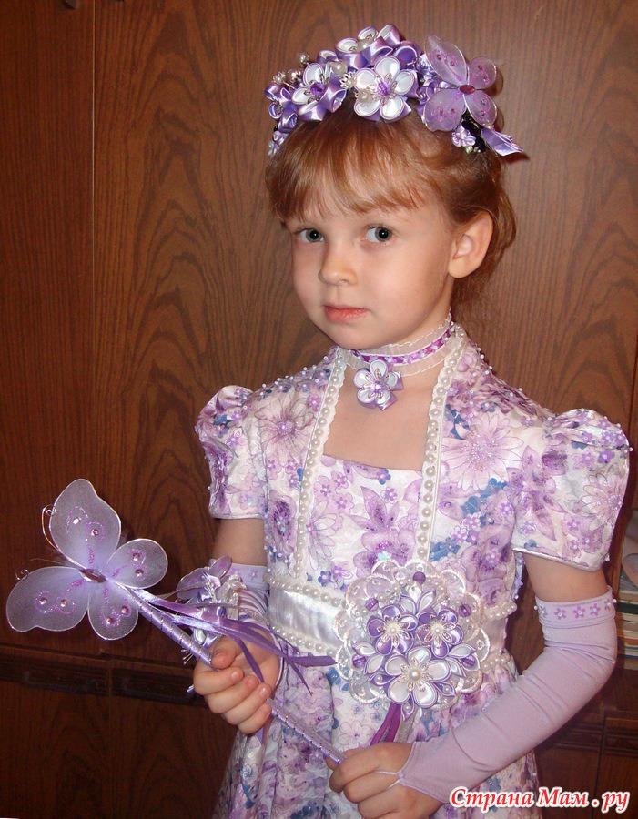 Платья для девочек украсить своими руками фото