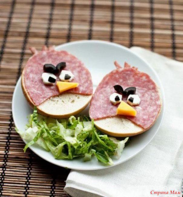 прикольные бутерброды рецепты с фото для детей