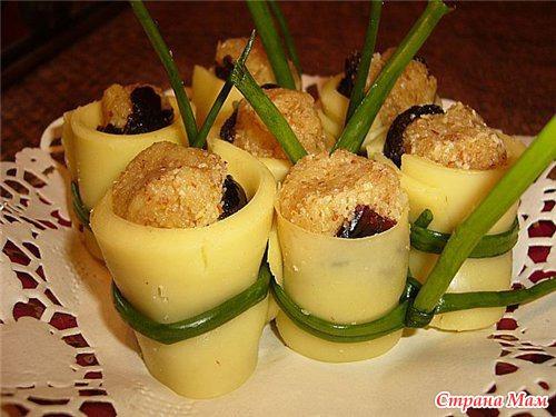 Блюда из сыра с фото закуски