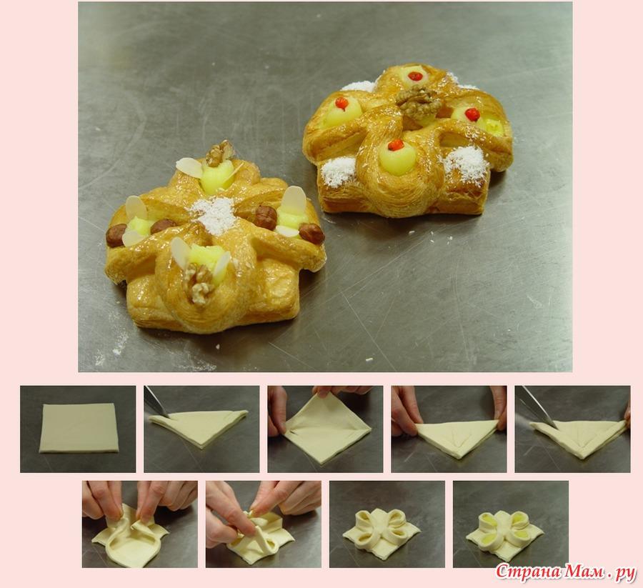 вироби з слойоного тіста рецепти фото