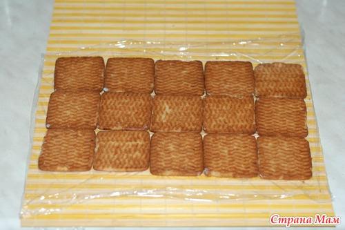 Домик с печенья и творога пошаговый рецепт с
