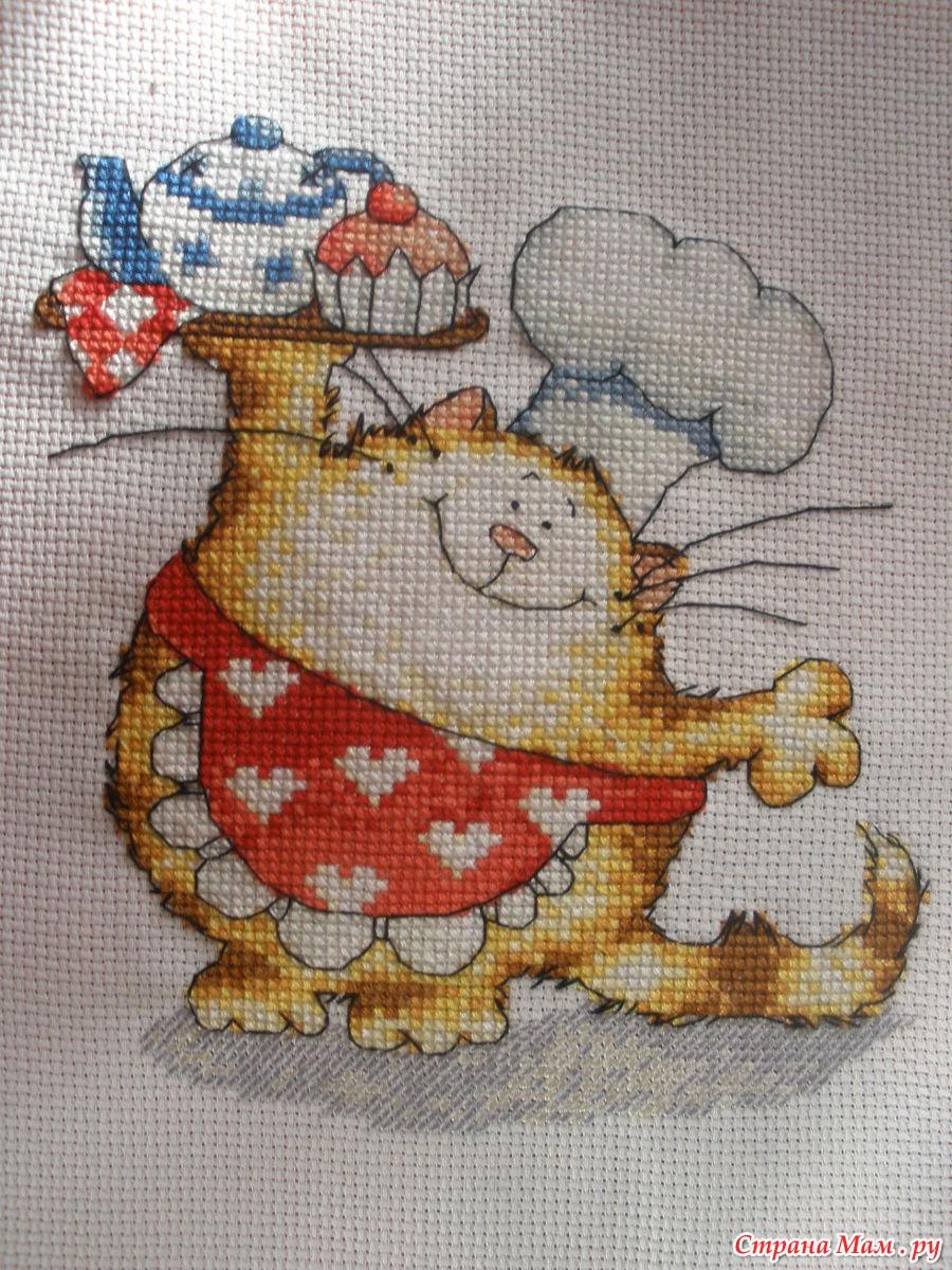 Маргарет шерри коты вышивка