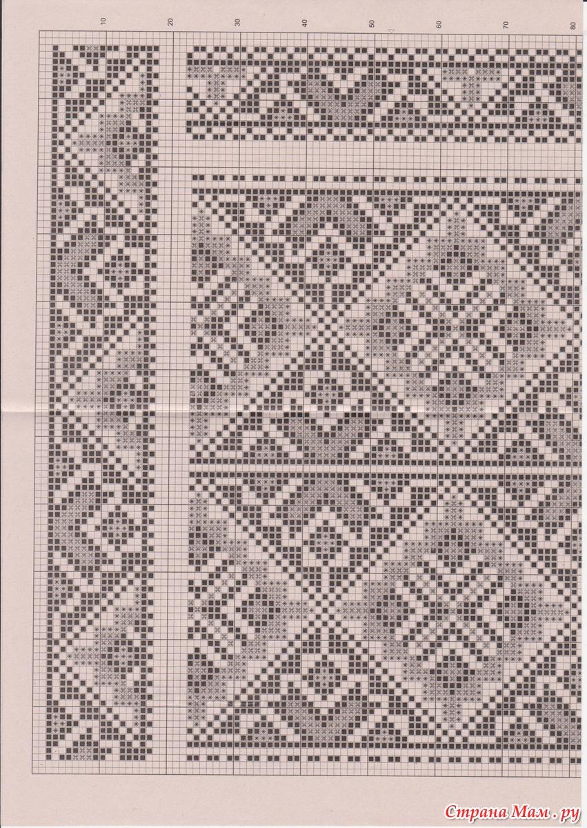 Схемы вышиванок мужских