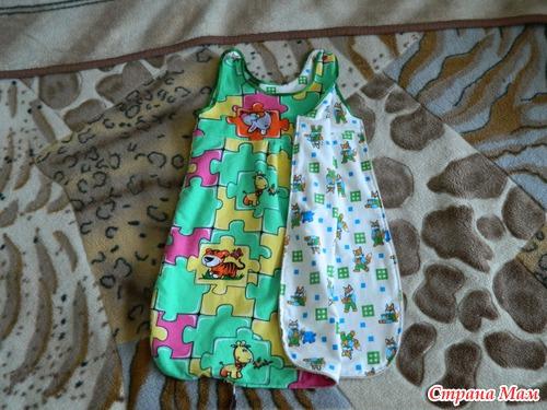Спальный мешок малышу своими руками