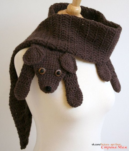 Идеи для шарфа (зверьки)))