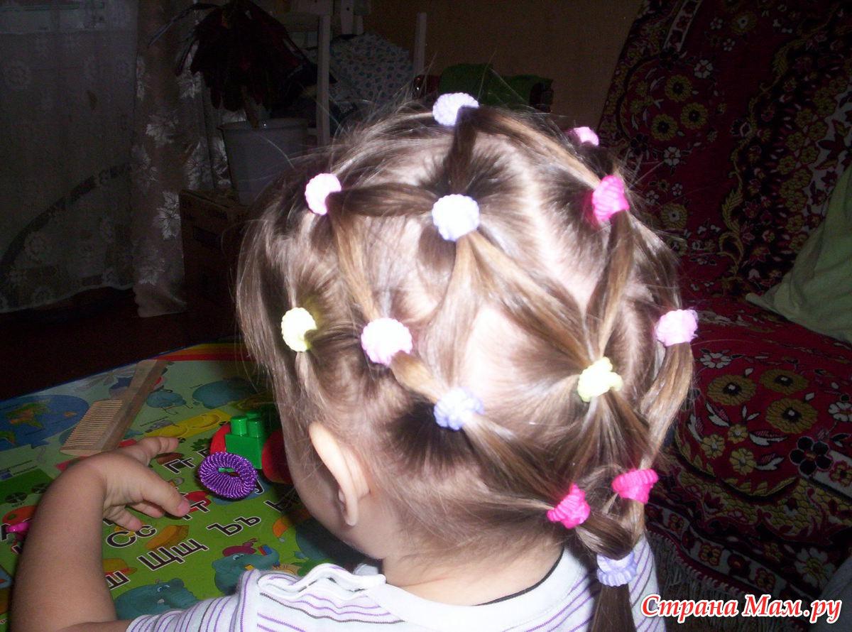 Прически для девочек на короткие волосы пошаговое фото