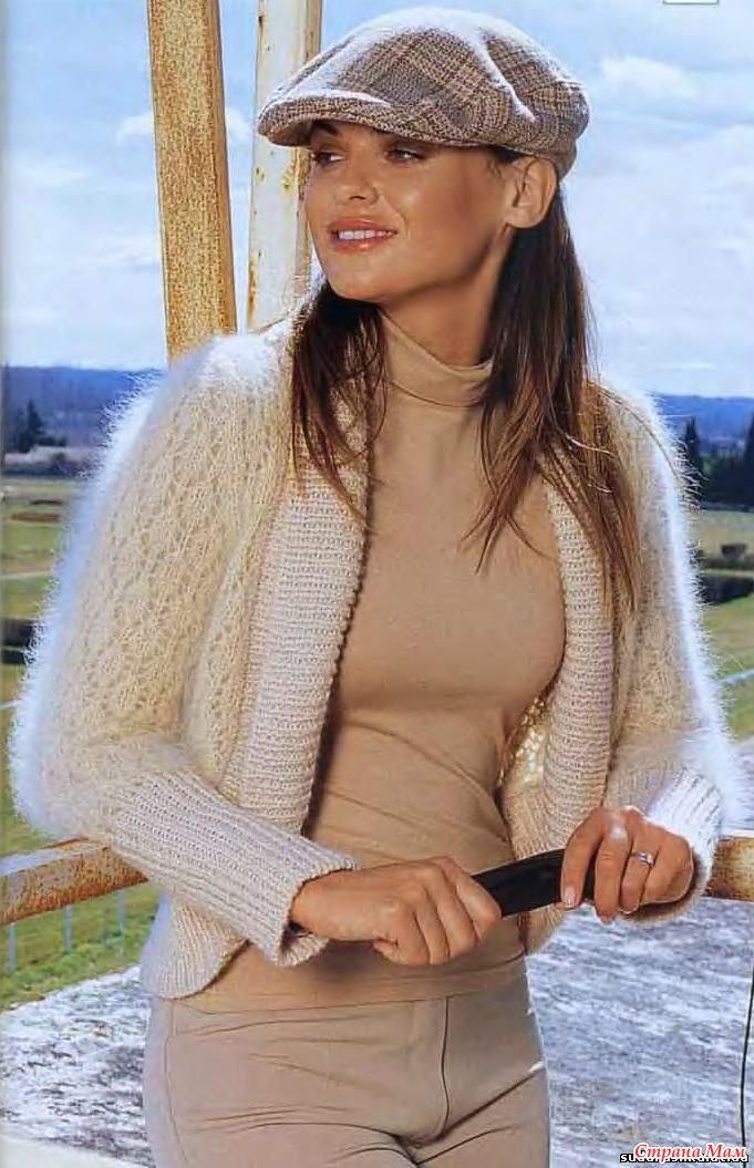 Жакет - Болеро из Мохера.