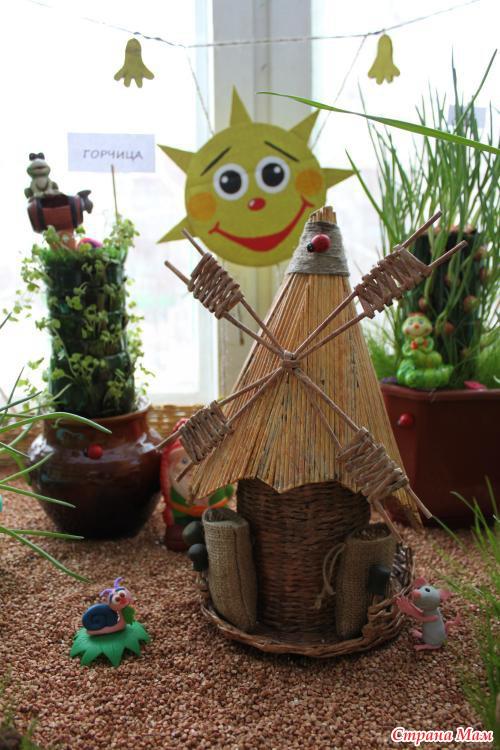 Поделки из огорода своими руками для школы - Раум Профи