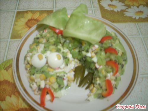 Рецепты салатов новый год дракона фото