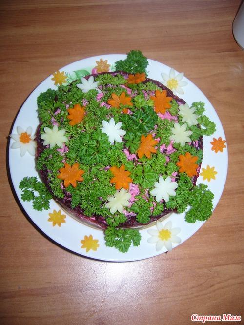 печень под шубой рецепт с фото