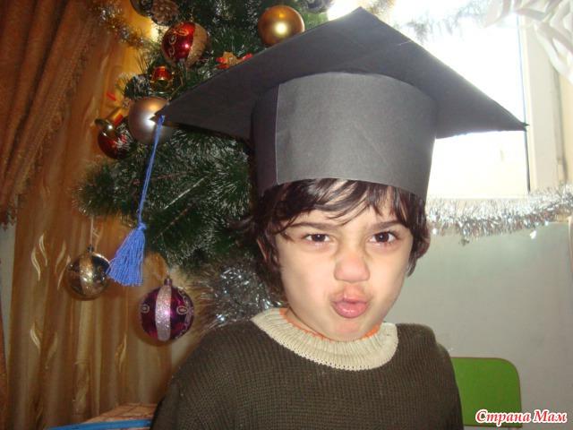 Как сделать шапочку выпускника из картона