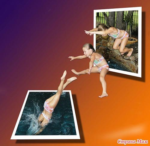 Объемная фотография как сделать