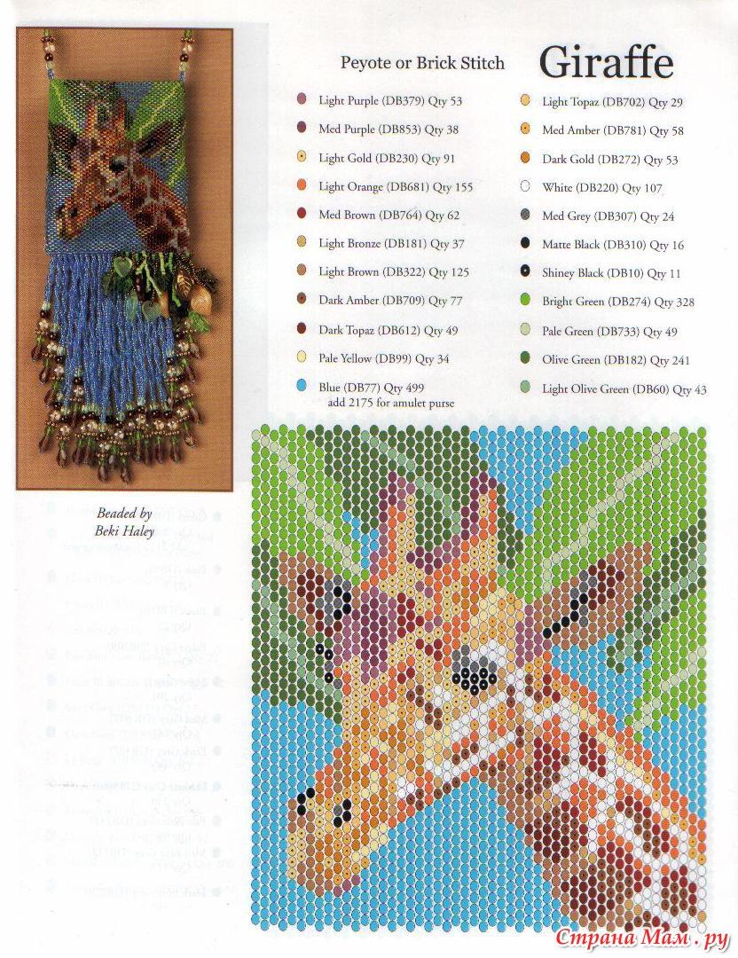 Схема плетение из бисера сувениры - Мастер класс лучшее фото и видео.