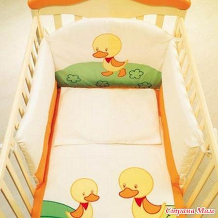 Обшивка детской кроватки