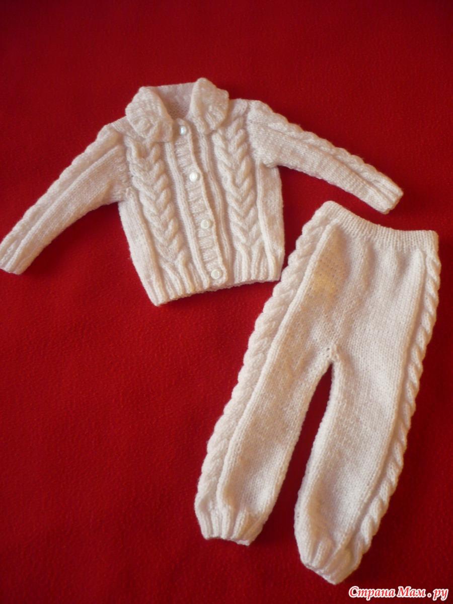 Видеоурок по вязанию штанишек