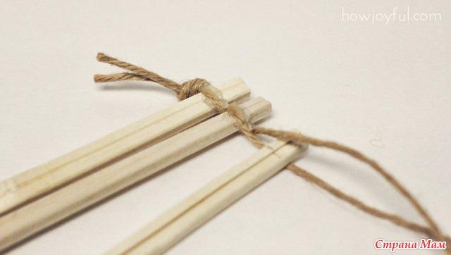 Поделки из китайской палочки