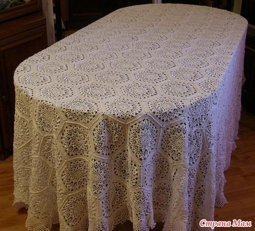 Что такое вязанная стола