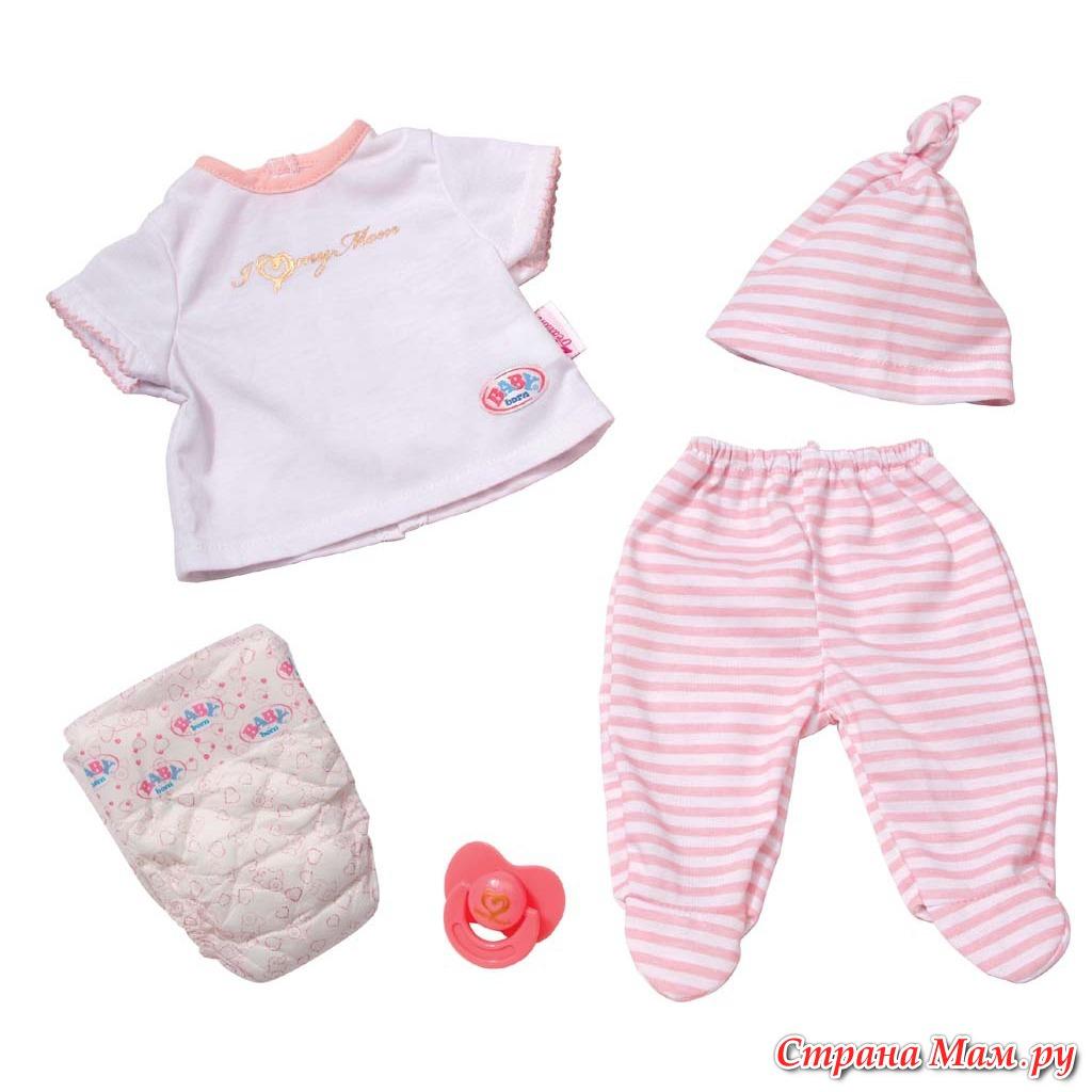 Аксессуары для беби бона девочки своими руками