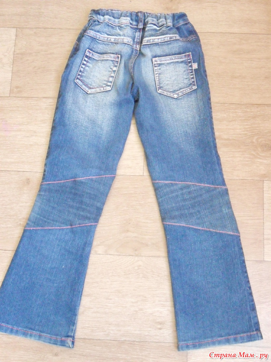 Удлинить женские джинсы