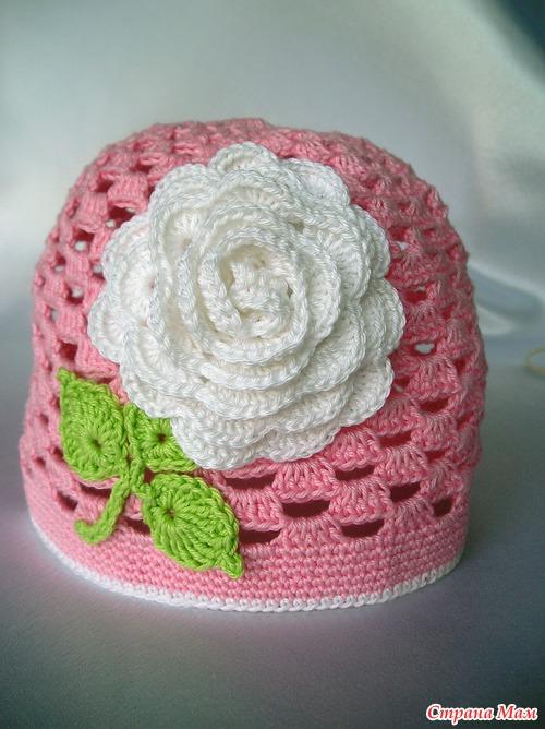 Летняя шапочка из 100% хлопка