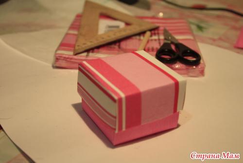 Как быстро сделать маленькую коробочку