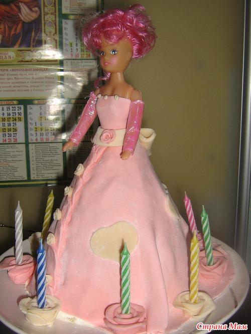 Торт барби своими руками фото 45