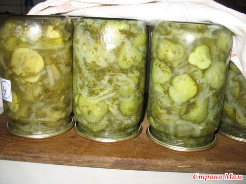 Салат на зиму огурцы с луком