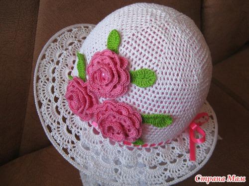 детская шляпа крючком