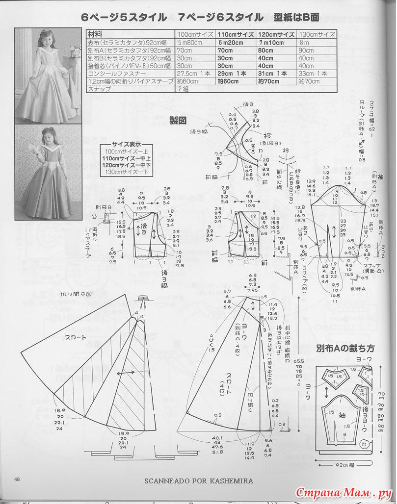 Выкройки вьетнамское платье 67