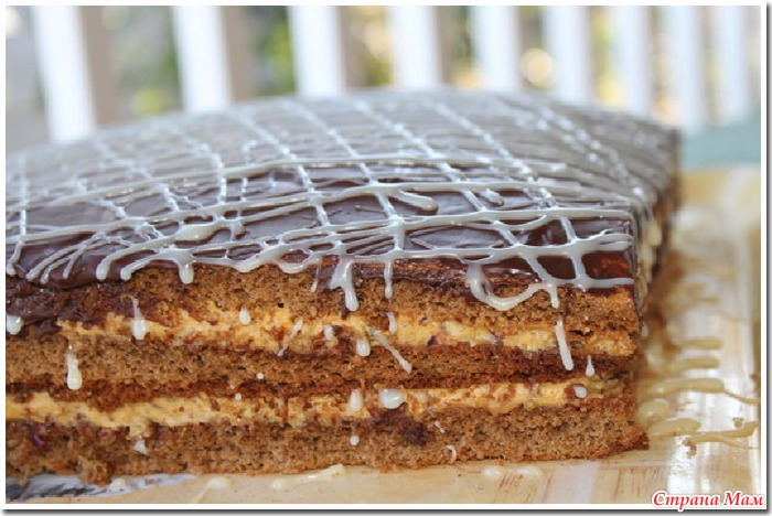 Торт золотой ключик рецепт с фото