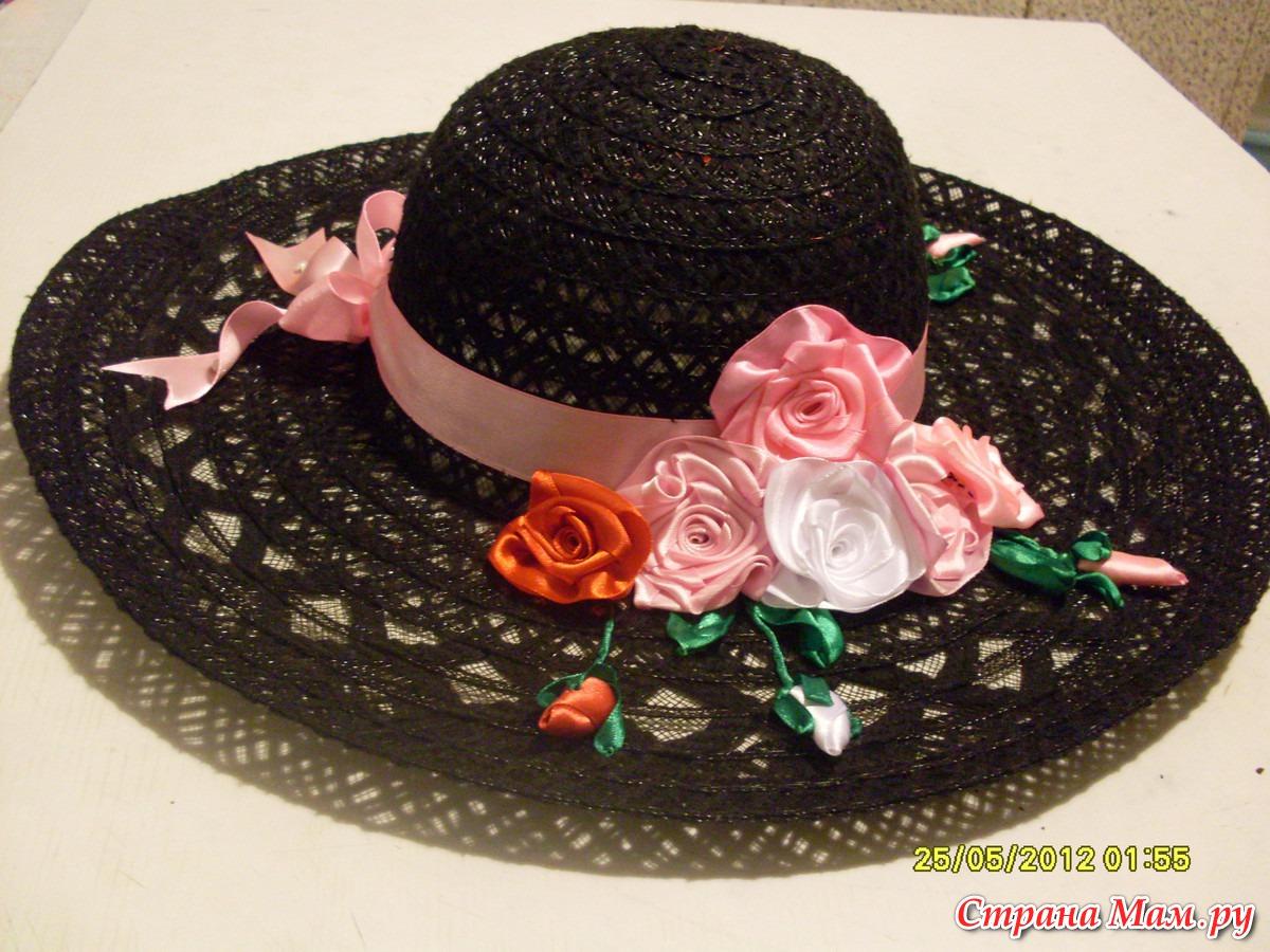 Ободок шляпка своими руками Коробочка идей и мастер