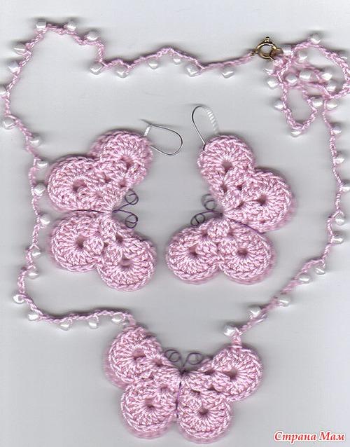 Для вязания бабочки