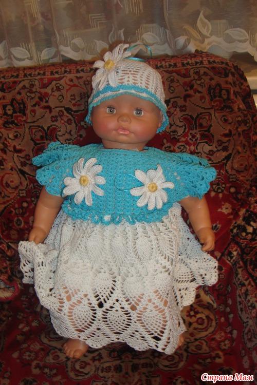 Платье на 1 годик мастер класс