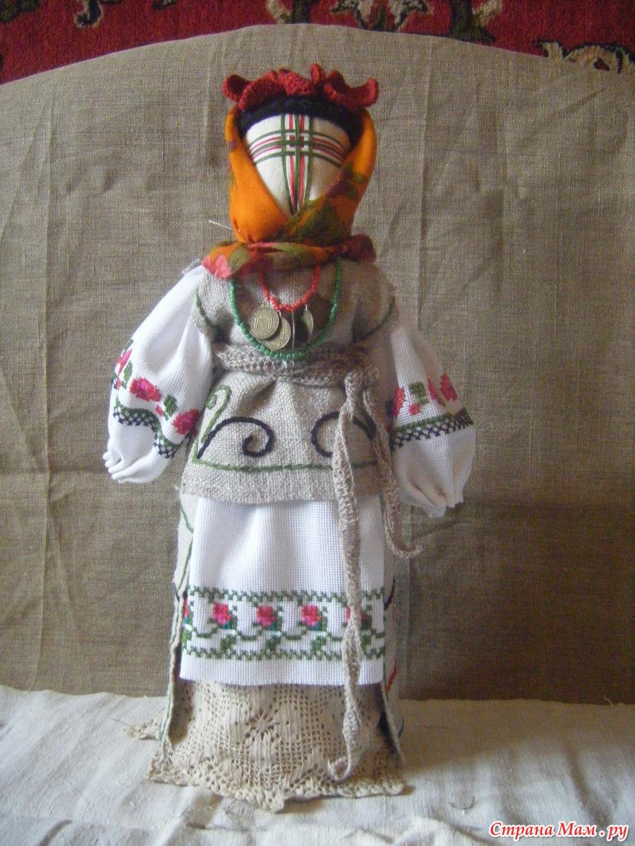 Кукла мотанка своими руками (мастер-класс) Коробочка идей и мастер 8