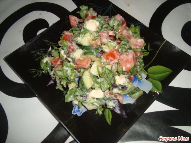 салаты диетическое питание