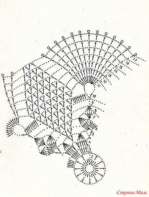 Крючок вязание схема картинки