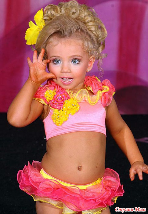 Саванна Джексон - пожалуй, самая маленькая представительница кукольного тре