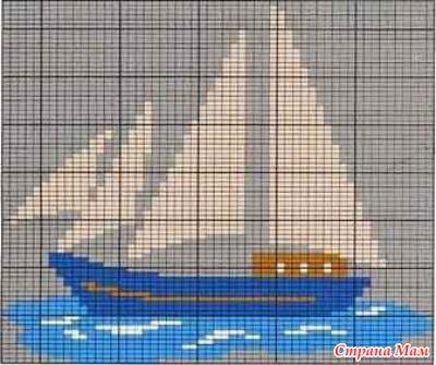 Вязание корабликов