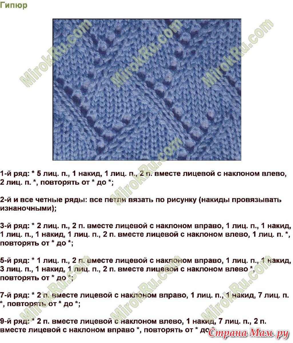 Фото узоры для пледов с описанием