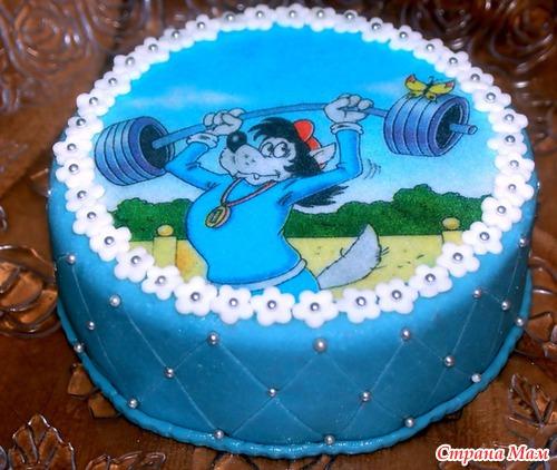 Купить вафельные картинки на торт