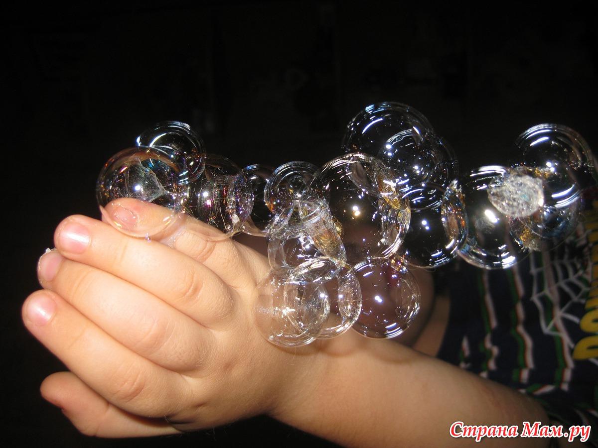 Как сделать нелопающиеся пузыри без глицерина