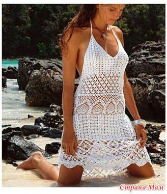 Красивые пляжные сарафанчики!
