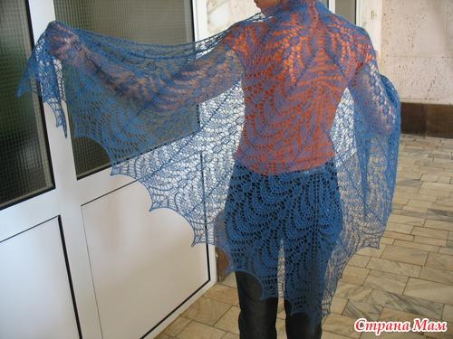 разместила схемы шалей с