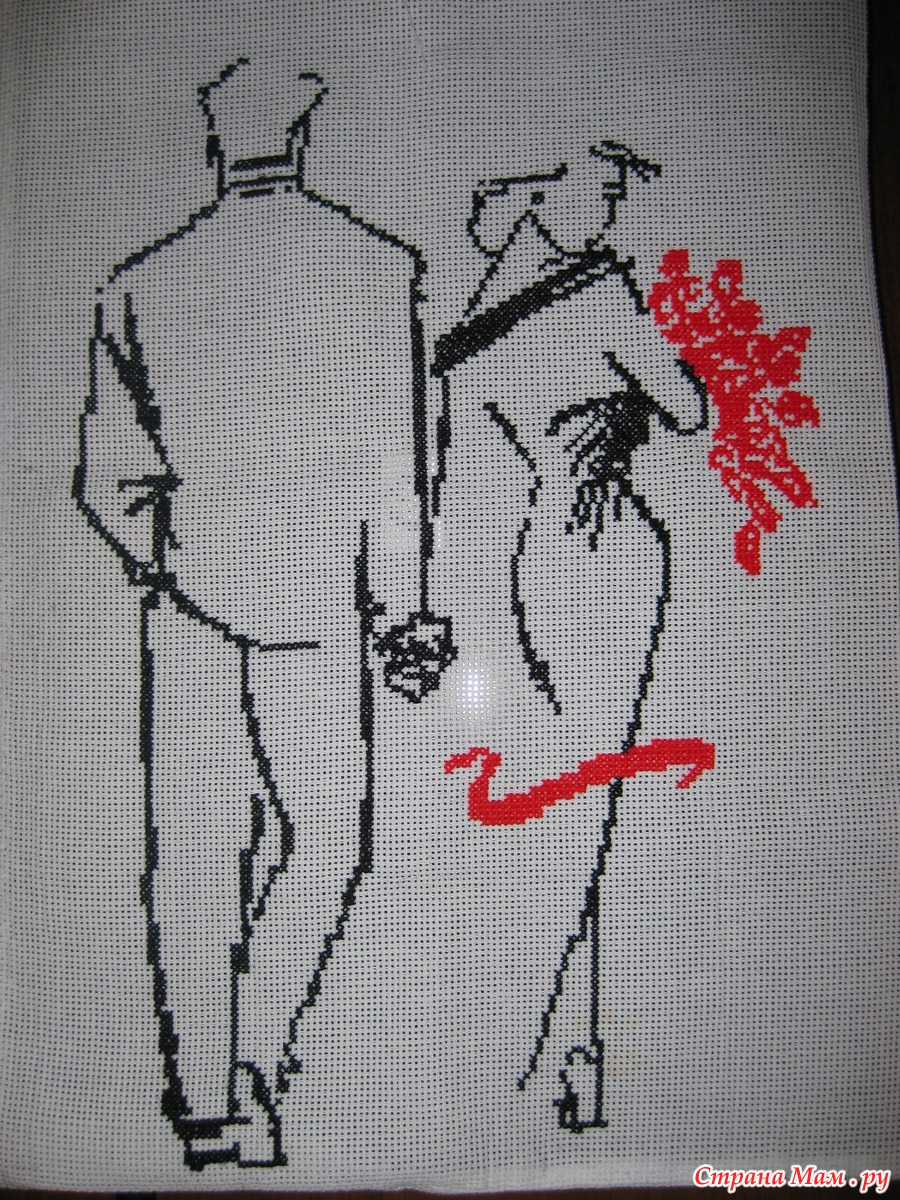 Парень с девушкой, вышивка крестом » Сайт Ручками - делаем 73